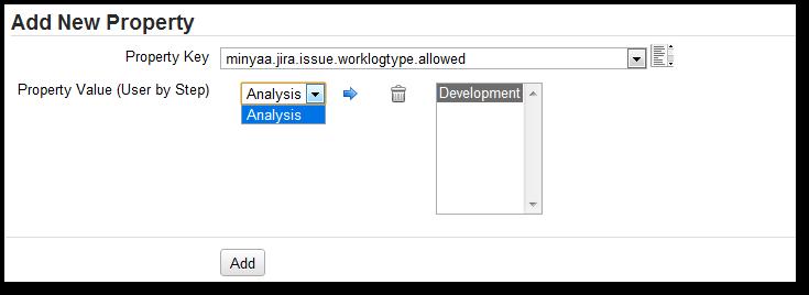 Worklog Type MetaAttribute  Editor